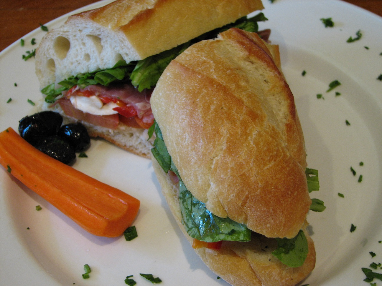 """Italian Sandwich"". Licensed under CC BY-SA 2.5 via Wikimedia Commons"