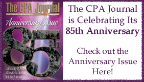 CPA Journal 85th Anniversary