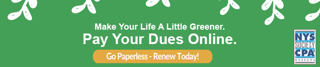 Go Paperless - Pay Your Dues Today