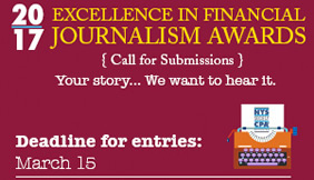 Excellence in Financial Journalism Awards