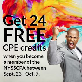 Get 24 FREE CPE Credits When You Become a NYSSCPA Member