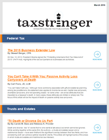 The Tax Stringer