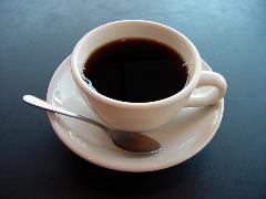 'A small cup of coffee' by Julius Schorzman
